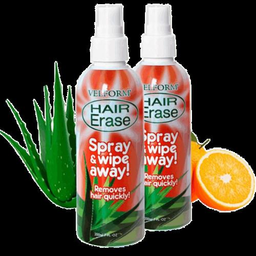 Hair Erase spray depilazione: è indolore? Acquisto sul sito ufficiale, opinioni e recensioni, prezzo
