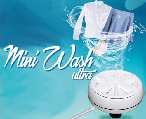 Mini Wash Ultra: come funziona la lavatrice portatile? Opinioni e recensioni, acquisto e prezzo scontato