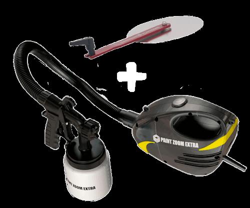 Paint Zoom Extra spruzzatore di vernice: utilizzo e vantaggi, acquisto e sito ufficiale, recensioni acquirenti e prezzo